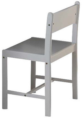 Acme Wooden Side Chair, White