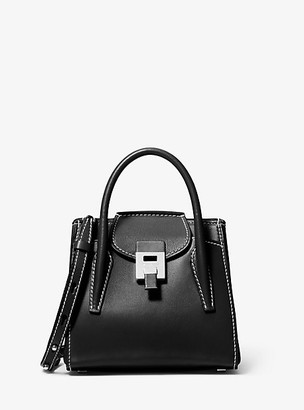 Michael Kors Bancroft Mini Leather Satchel