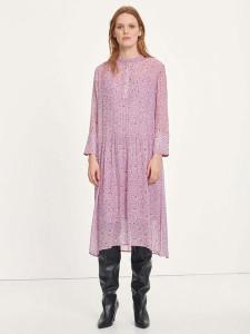 Samsoe & Samsoe Elm Shirt Dress Aop Wisteria Purple - XS