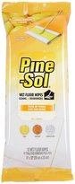 Pine Sol Wet Floor Wipes-Lemon-12 ct