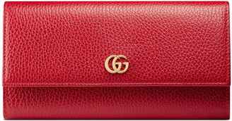 Gucci Petite Leather Continental Wallet