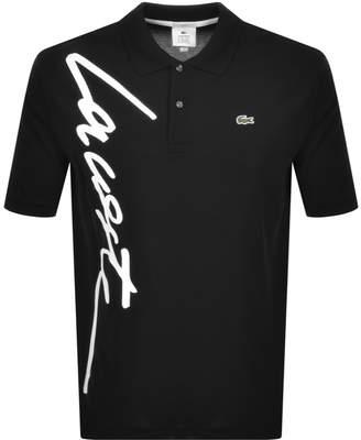 Lacoste Live Polo T Shirt Black