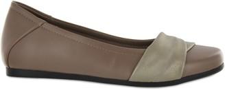 Mia Amore Faux Leather Slip-On Flats - Corra