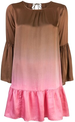 Cynthia Rowley Siena ombre swing dress