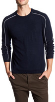 Autumn Cashmere Sporty Crew Neck Cashmere Shirt