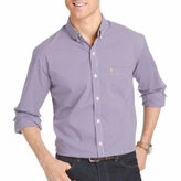 Izod Long-Sleeve Advantage Non Iron Plaid Shirt