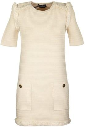 Elisabetta Franchi Celyn B. Knit Boxy Dress