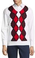 J. Lindeberg Diamond Merino Wool Vest