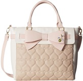 Betsey Johnson Belted Bow Tote
