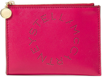Stella McCartney Perforated Faux Leather Coin Purse