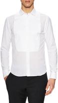 Valentino Cotton Bib Front Dress Shirt