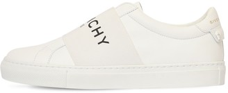 Givenchy 20mm Urban Street Logo Leather Sneakers