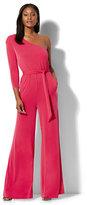 New York & Co. One-Shoulder Jumpsuit