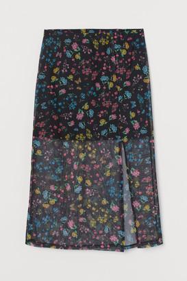 H&M Mesh Skirt - Black