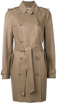 Desa 1972 - leather trench-coat - women - Leather - 8