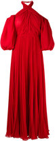 Giambattista Valli cold shoulder dress - women - Silk/Cotton/Polyamide/Viscose - 40