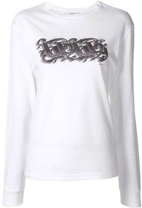 G.V.G.V. Logo Print Sweatshirt