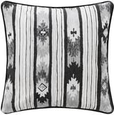 A By Amara A by AMARA - Mono Ikat Stripe Cushion - 45x45cm