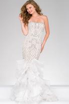Jovani Ruffled Mermaid Pageant Dress 47934