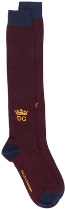 Dolce & Gabbana Colour Block Socks