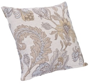 "Siscovers Isabella Floral 26"" Designer Euro Throw Pillow"