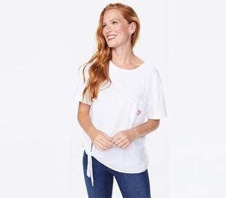 NYDJ Tie Front T-Shirt