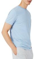 Topman Men's Crewneck Stripe T-Shirt