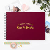 Love Give Ink Personalised Couple's 'Moments' Photo Album
