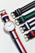 Urban Outfitters Striped Multi Band Watch Set