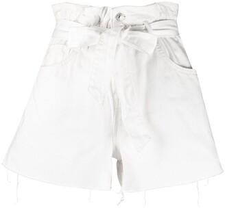 AllSaints Hannah belted shorts