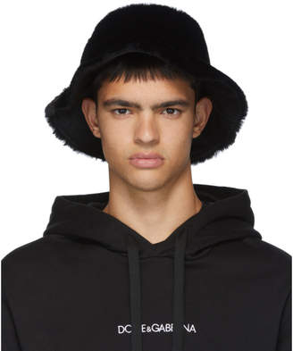 Dolce & Gabbana Black Star King Bucket Hat
