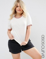 Asos Basic Cuff T-Shirt