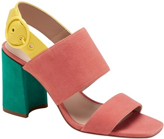 Banana Republic Two-Strap Block-Heel Sandal