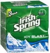 Irish Spring Deodorant Bath Bar Icy Blast