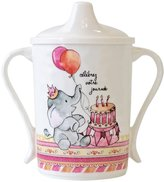 Baby Cie Dani Textured Sippy Cup - Celebrer Votre Journee - 12 oz