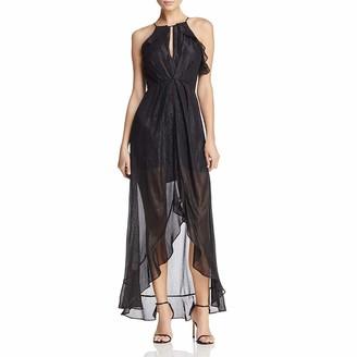 ASTR the Label Women's Arielle Ruffle Full Length Dress