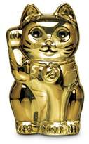 Baccarat Chat lucky cat sculpture - Gold