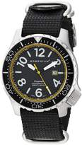 Momentum Men's 1M-DV74Y7B Analog Display Japanese Quartz Black Watch