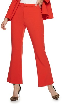 Nine West Petite Madison Cropped Kick Flare Pants