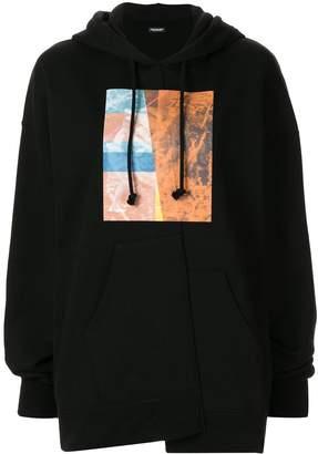 Christian Dada graphic-print hoodie