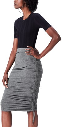 Find. Amazon Brand Women's Ruched Jersey Skirt