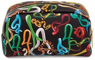 Seletti x TOILETPAPER Large Snakes Cosmetic Bag