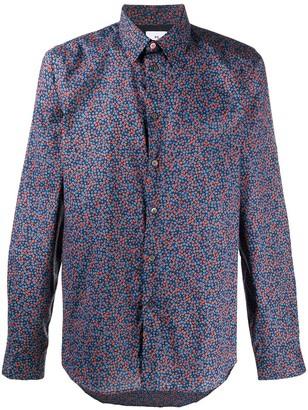 Paul Smith Floral-Print Cotton Shirt