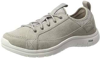 CAT Footwear Women's Swain Low-Top Sneakers, Grey Grey, 37 EU