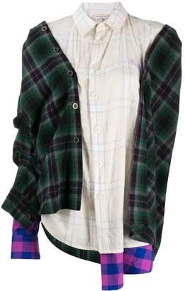 Natasha Zinko asymmetric oversized shirt