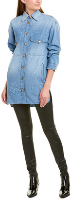 The Kooples Jeans Distressed Top