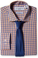 Nick Graham Everywhere Men's Mini-Gingham Dress Shirt