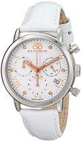 88 Rue du Rhone Women's 87WA130003 Analog Display Swiss Quartz White Watch