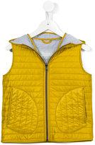 Herno Kids - hooded gilet - kids - Cotton/Polyamide/Polyester - 4 yrs