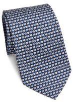 Salvatore Ferragamo Flower Repeat Silk Tie